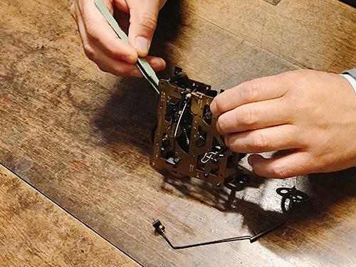 ドイツ製鳩時計 -修理について1