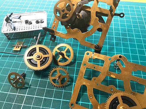 ドイツ製鳩時計 -修理について2
